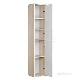 Шкаф - колонна Рико белый, ясень фабрик Aquaton 1A216603RIB90
