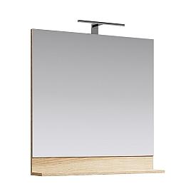 Фостер Панель с зеркалом и светильником FOS0208DS AQWELLA