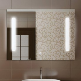 Зеркало Comforty Жасмин-85 светодиодная лента сенсор 850x650 00004140520
