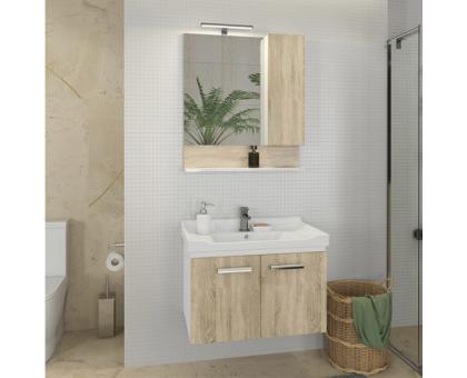 Зеркало-шкаф Comforty Рига-70 00004142212