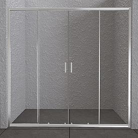 Дверь в проём BelBagno UNIQUE-BF-2-150/180-C-Cr