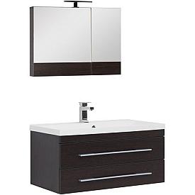 Комплект мебели для ванной комнаты    Aquanet #00230298