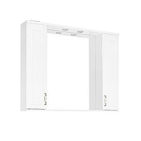 Зеркальный шкаф Style Line Олеандр-2 100 ЛС-00000583 белый
