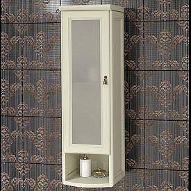 Шкаф Клио подвесной 1 створч., левый, с матовым стеклом Opadiris Z0000014867