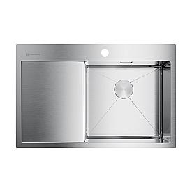 Кухонная мойка Omoikiri Akisame 78-IN-R 4973061 нержавеющая сталь