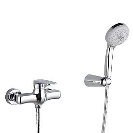 GRITT Смеситель д/душа монокомандный, внешний, с ручным душем, хром