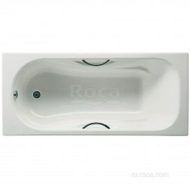Чугунная ванна Roca Malibu 2310G000R 160х75
