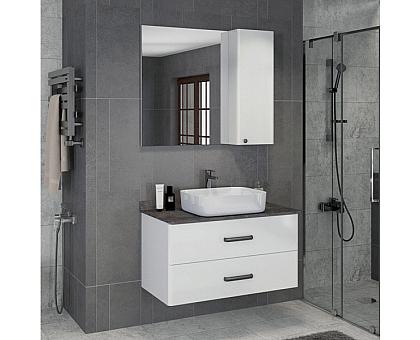 Зеркало-шкаф Comforty Амстердам-95 00004143986