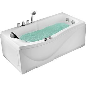 Ванна угловая с подголовником Gemy 173х83 G9010 B R