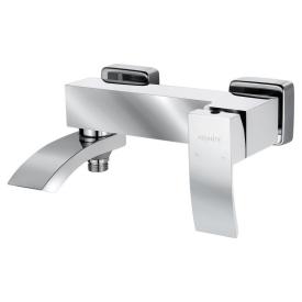 Смеситель для ванны Adiante AD-14022 WH+CR