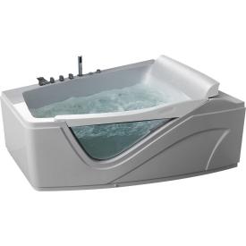 Ванна  угловая с подголовником Gemy G9056 B R