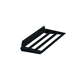 Полка для полотенца прямая черный Sonia 176076