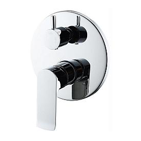 Встраиваемый смеситель для ванны и душа BelBagno DIS-BASM-CRM