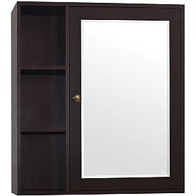 Зеркало-шкаф Style Line Кантри 75 ЛС-00000032 Венге