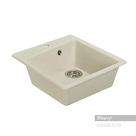 Мойка для кухни Парма квадратная жемчуг Aquaton 1A713032PM240