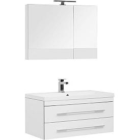 Комплект мебели для ванной комнаты    Aquanet #00230312