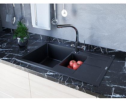 Мойка для кухни кварцевая Paulmark Feste PM237850-CH