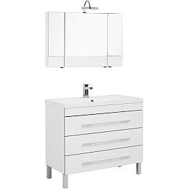 Комплект мебели для ванной комнаты    Aquanet #00230322