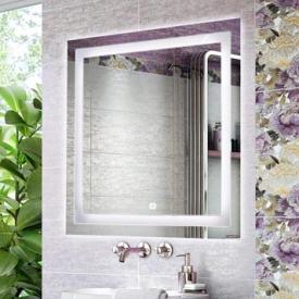 Зеркало Comforty Квадрат-75 светодиодная лента сенсор 750x750 00004140521