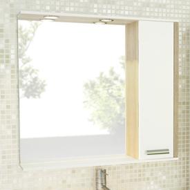Зеркало-шкаф Comforty Тулуза-90 00003132228