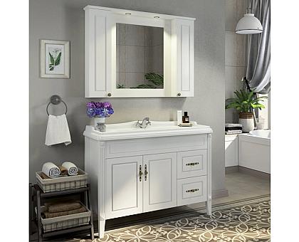 Зеркало-шкаф Comforty Палермо-120 00004142365
