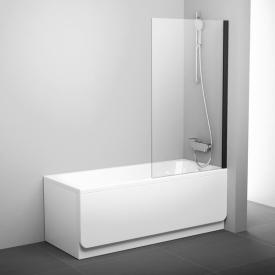 Шторка для ванны Ravak PVS1 79840300Z1 80 черный прозрачный