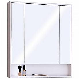 Зеркальный шкаф Рико 80 белый, ясень фабрик Aquaton 1A215302RIB90