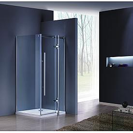Душевой уголок Grossman GR-6090 Style 90x90 квадрат дверь распашная