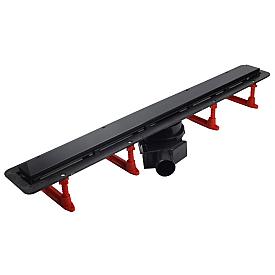 Душевой лоток Pestan Confluo Frameless Line 950 Black Glass 13701207