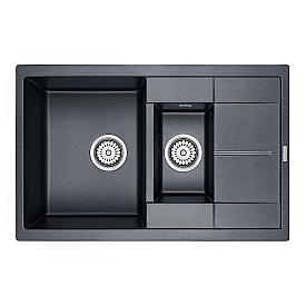 Мойка для кухни кварцевая Paulmark Feste PM237850-BLM