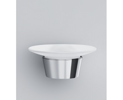 A8034200 Like Стеклянная мыльница с настенным держателем