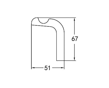 Крючок одинарный подвесной ART&MAX AM-F-8933
