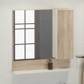 Зеркало-шкаф Comforty Рига-80 00004139024