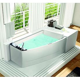 Прямоугольная гидромассажная ванна Orans  OLS-BT65100-R