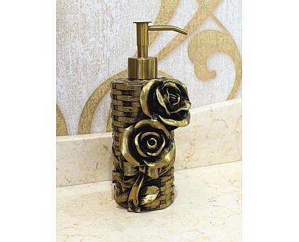 Дозатор для жидкого мыла настольный ART&MAX AM-B-0091A-B