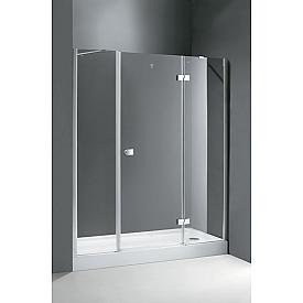 Душевая дверь Cezares CRYSTAL-S-B-13-90+60/60-C-Cr-L