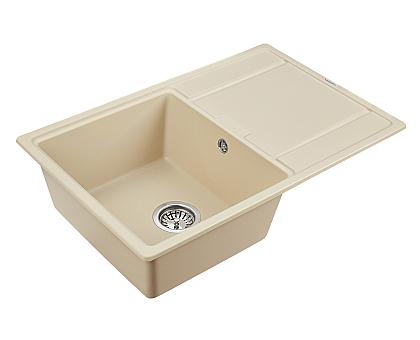 Мойка для кухни кварцевая Paulmark Flugen PM217850-CH