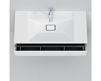 M50AFHX1003WM INSPIRE V2.0 База под раковину подвесная 100 см 3 ящика push-to-open белый матов