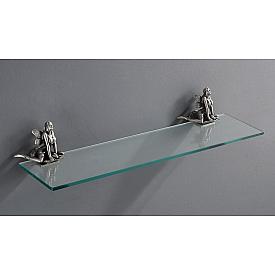 Полка стеклянная подвесная 60 см ART&MAX AM-B-0983-T