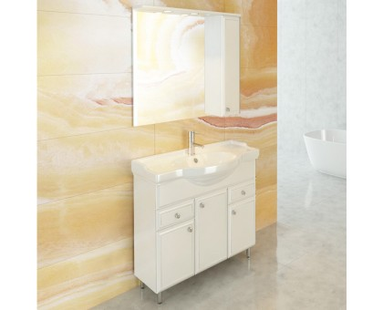 Зеркало-шкаф Comforty Сочи-85 00003132119