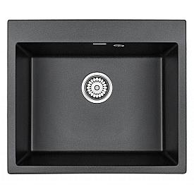 Мойка для кухни кварцевая Paulmark Kante PM106052-BL