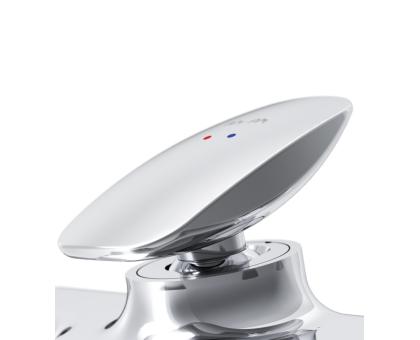 Смеситель для ванны/душа AM.PM Spirit 2.0 F70A10000 127 мм