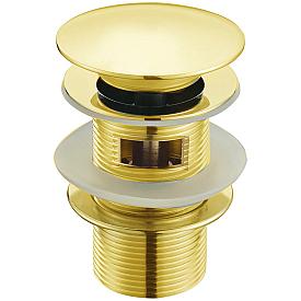 Слив для раковины автомат(клик-клак) Boheme IMPERIALE 611/2 золото