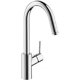 Смеситель с выдвижным изливом для кухни Hansgrohe Talis S2 14872000