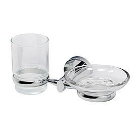 K-6226 Держатель стакана и мыльницы WasserKRAFT