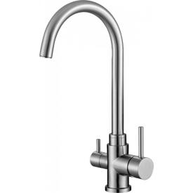 Смеситель для кухни с краном для питьевой воды BelBagno BB-LAM15A-IN