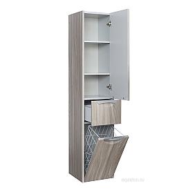 Шкаф - колонна Сильва левый дуб фьорд Aquaton 1A215603SIW6L