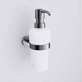 Стеклянный диспенсер для жидкого мыла с настенным держателем AM.PM Sense A7436900 195 мм