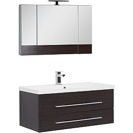 Комплект мебели для ванной комнаты    Aquanet #00230304