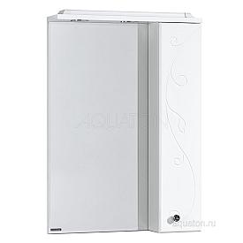 Зеркальный шкаф Лиана 60 правый белый Aquaton 1A162702LL01R